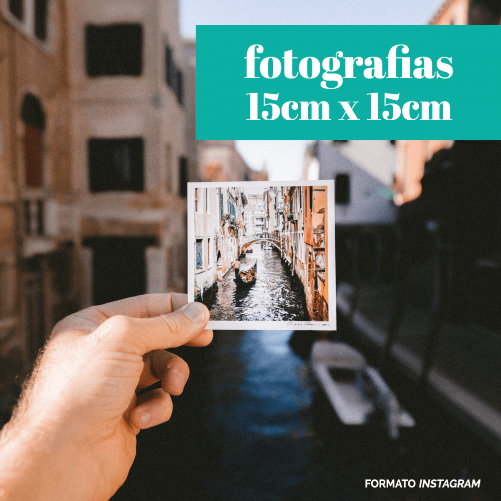 Fotografias 15cm x 15cm