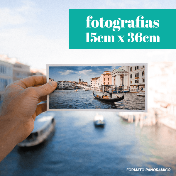 Fotografias 15cm x 36cm